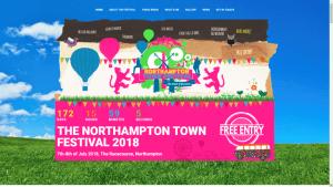 Northampton Town Festival Website