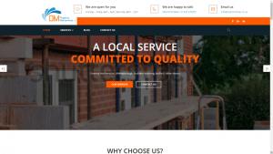 DM Property Management Website