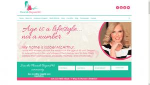 Flourish Beyond 40 Website