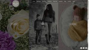 Lindsey Arber Photography Website