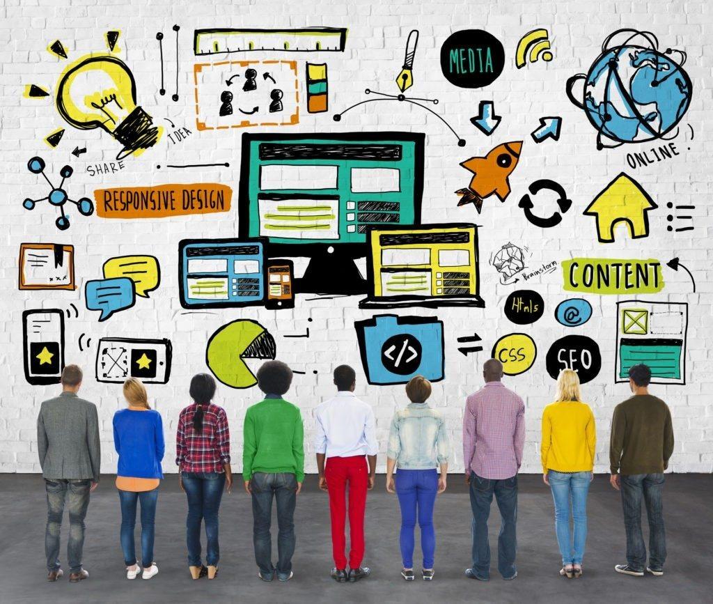 websites and social media
