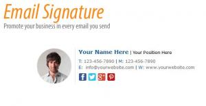 HTML Email Signature