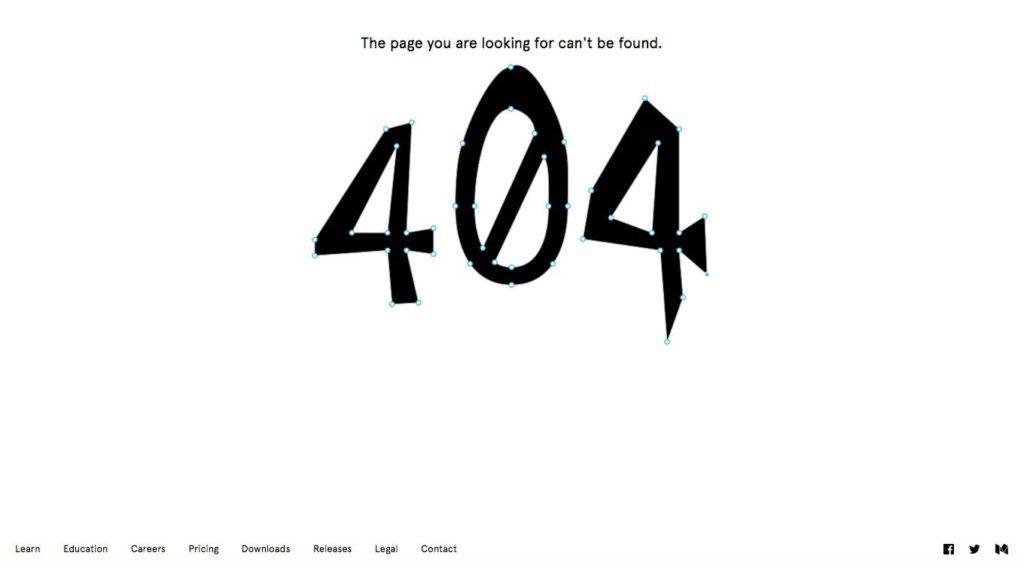 Figma 404 Page