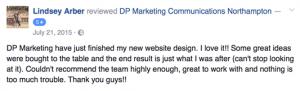 Website design feedback
