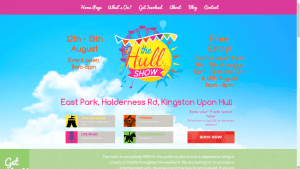 Hull Show Website