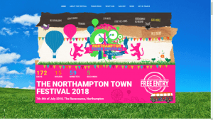 Northampton Town Festival Website