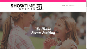 Showtime Events Website