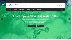 Business Energy for Less Website
