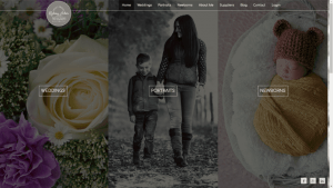 Lindsey Arber Photography Website