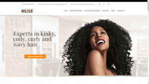 The Muse Salon Website