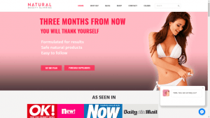 Natural Beauty Slimming Website