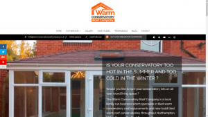 Warm Conservatory Roof Company Website